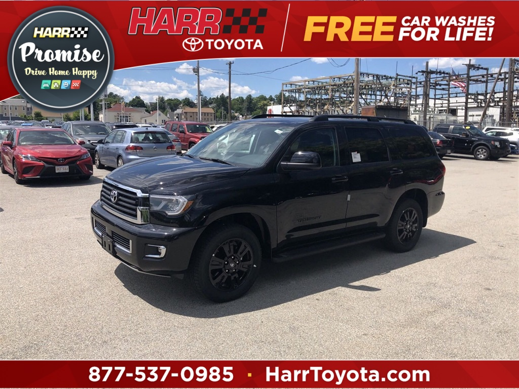 2018 Toyota Sequoia: Refreshed, Changes, TRD Sport, Price >> New 2019 Toyota Sequoia Trd Sport 4wd 4d Sport Utility