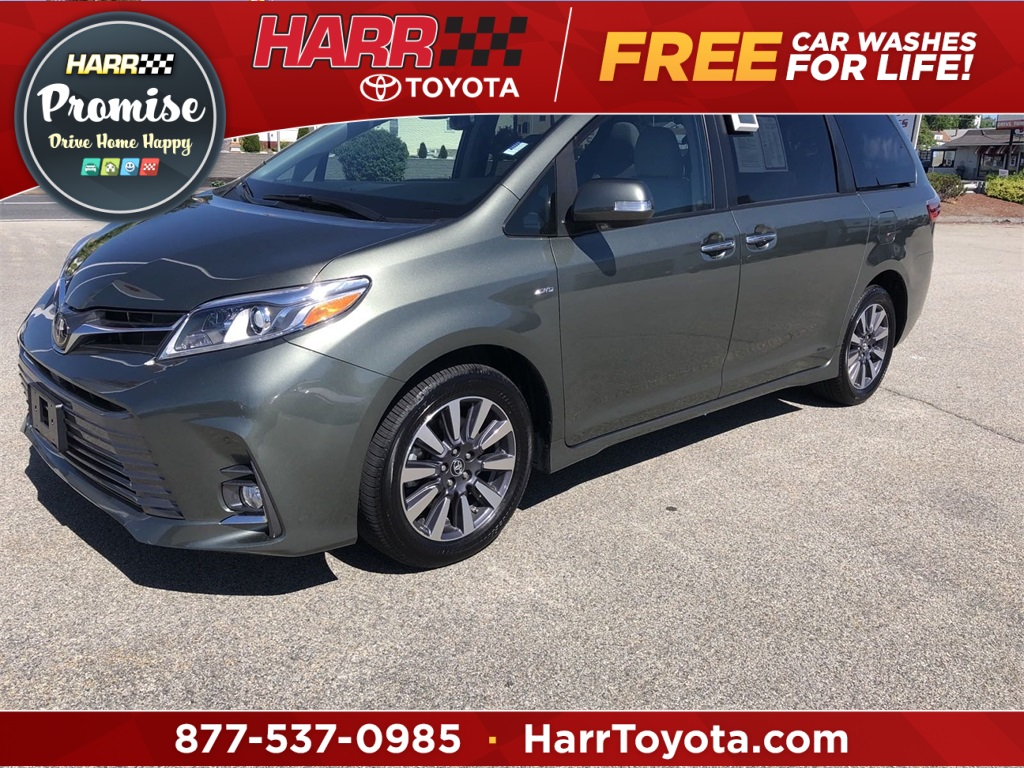 certified pre owned 2020 toyota sienna limited 4d passenger van awd certified pre owned 2020 toyota sienna limited 4d passenger van awd
