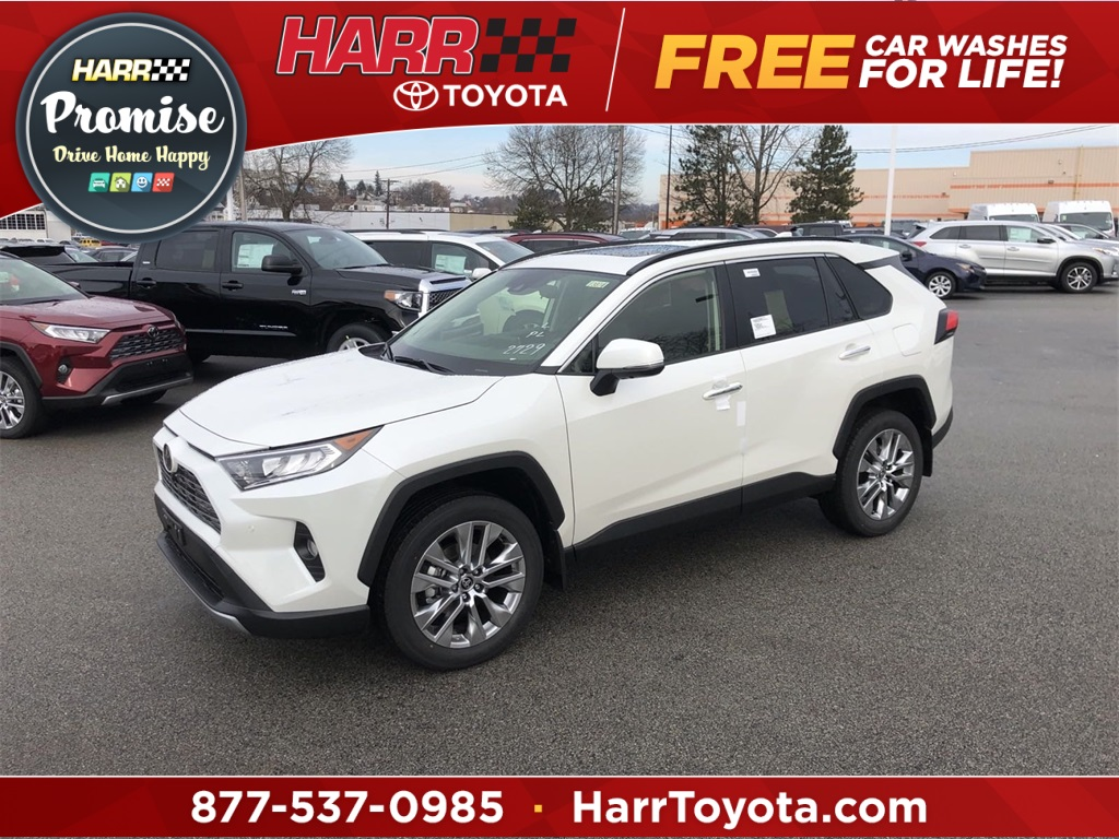 New 2020 Toyota RAV4 Limited 4D Sport Utility AWD