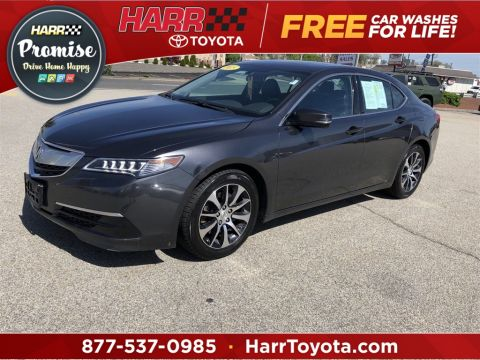 Pre-Owned 2015 Acura TLX 2.4L 4D Sedan FWD