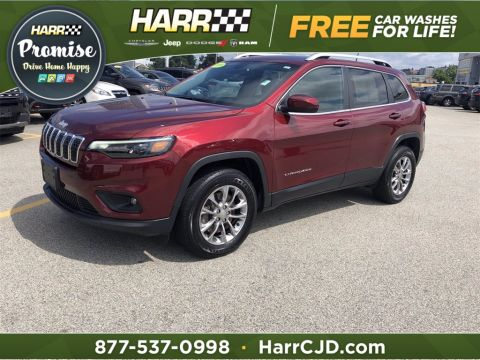 Pre-Owned 2019 Jeep Cherokee Latitude Plus 4D Sport Utility 4WD