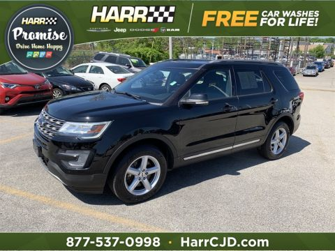 Pre-Owned 2017 Ford Explorer XLT 4D Sport Utility 4WD