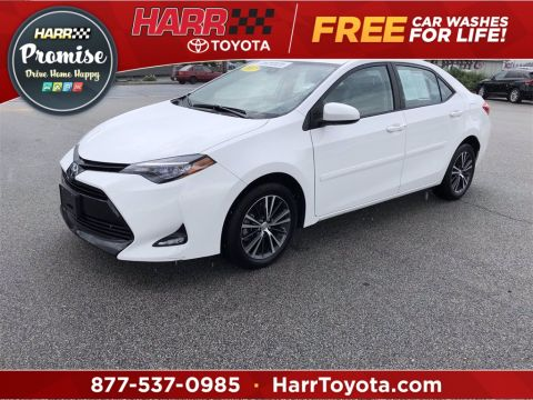Certified Pre-Owned 2017 Toyota Corolla LE 4D Sedan FWD