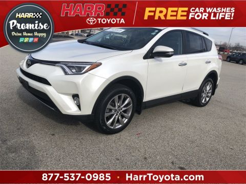 Certified Pre-Owned 2017 Toyota RAV4 Limited 4D Sport Utility AWD