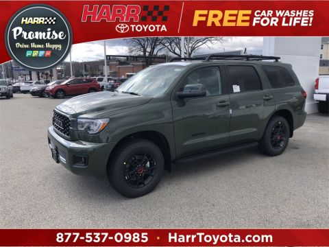 New 2020 Toyota Sequoia TRD Pro 4D Sport Utility 4WD