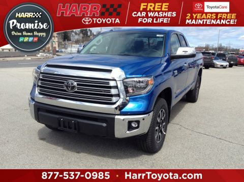 New 2018 Toyota Tundra Limited 4D Double Cab