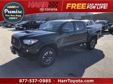 New 2020 Toyota Tacoma TRD Sport Double Cab 5' Bed V6 MT (Natl)