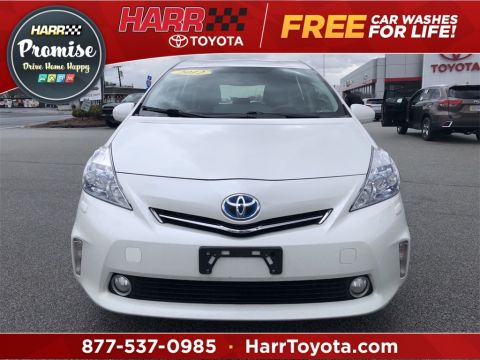 Pre-Owned 2012 Toyota Prius v Five Station Wagon FWD